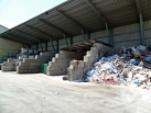 Recyclinghalle außen