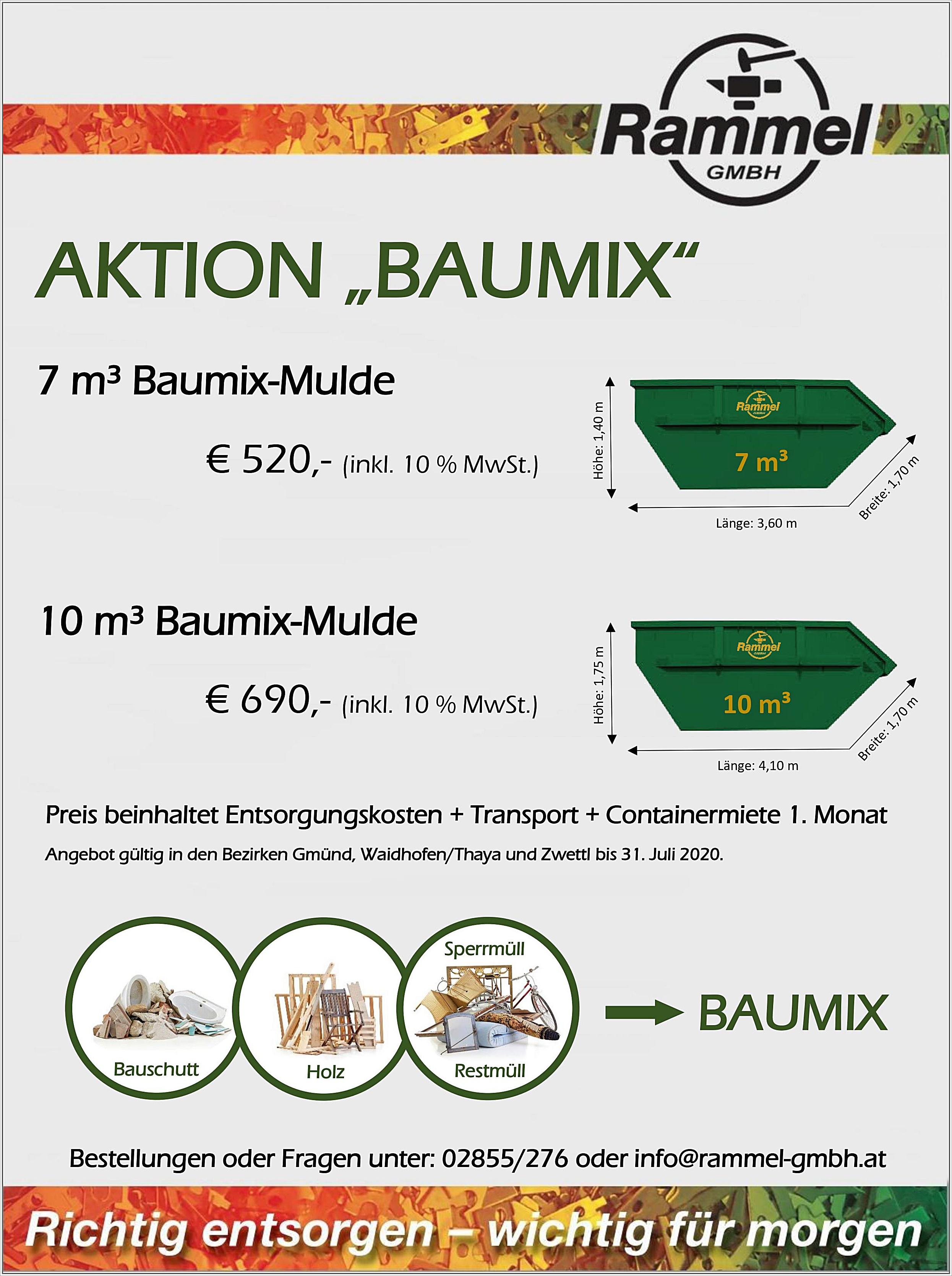 Aktion Baumix